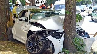 17 min IDIOT BMW Crash Compilation 2017 - M3 M6 M5 X6 X5 E30 E36 E46 M4