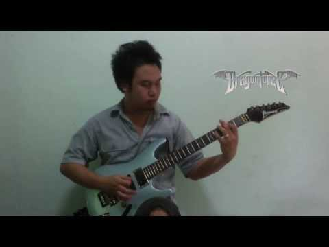 DragonForce Cry Thunder Guitar Cover