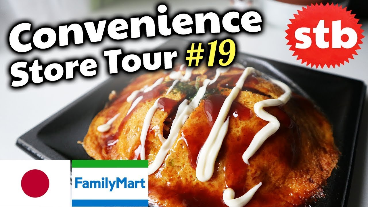 Family Mart Food Review Japanese Convenience Store Snack Haul  In Tokyo