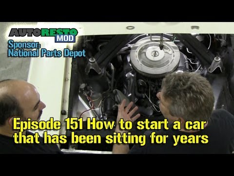 How to start a car that has been sitting for years Episode 151 Autorestomod