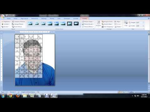 How to Create Jigsaw Puzzles in Microsoft Word, PowerPoint or