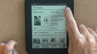 B&N NOOK Simple Touch Reader video tour