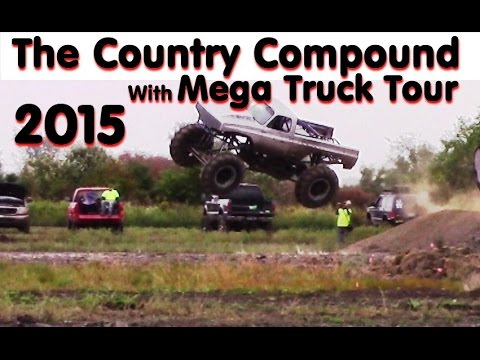 The Country Compound Mud Bog - With Mega Truck Tour Sept 2015