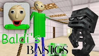 Monster School: Baldi's Basic Horror Challenge - Minecraft Animation