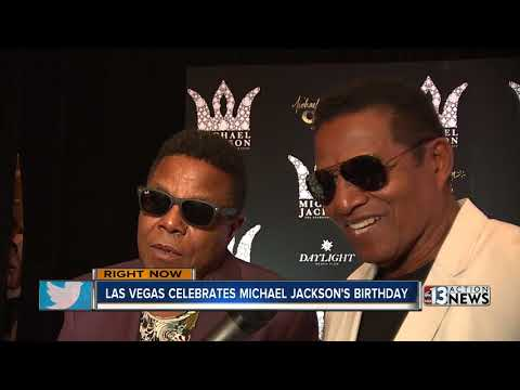 Michael Jackson Diamond Celebration held at Mandalay Bay Hotel and Casino