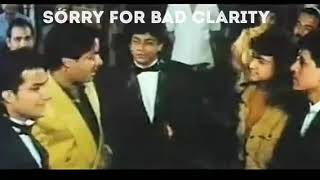 Shahrukh and amir together | pehla nasha | Deepak tijori