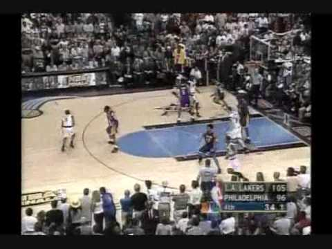 2001 NBA Finals: Lakers at Sixers, Gm 5 part 12/12