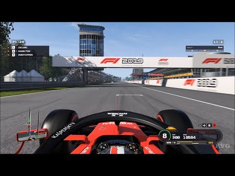 F1 2019 - Autodromo Nazionale Monza (Italian GP) - Gameplay (PC HD) [1080p60FPS] |