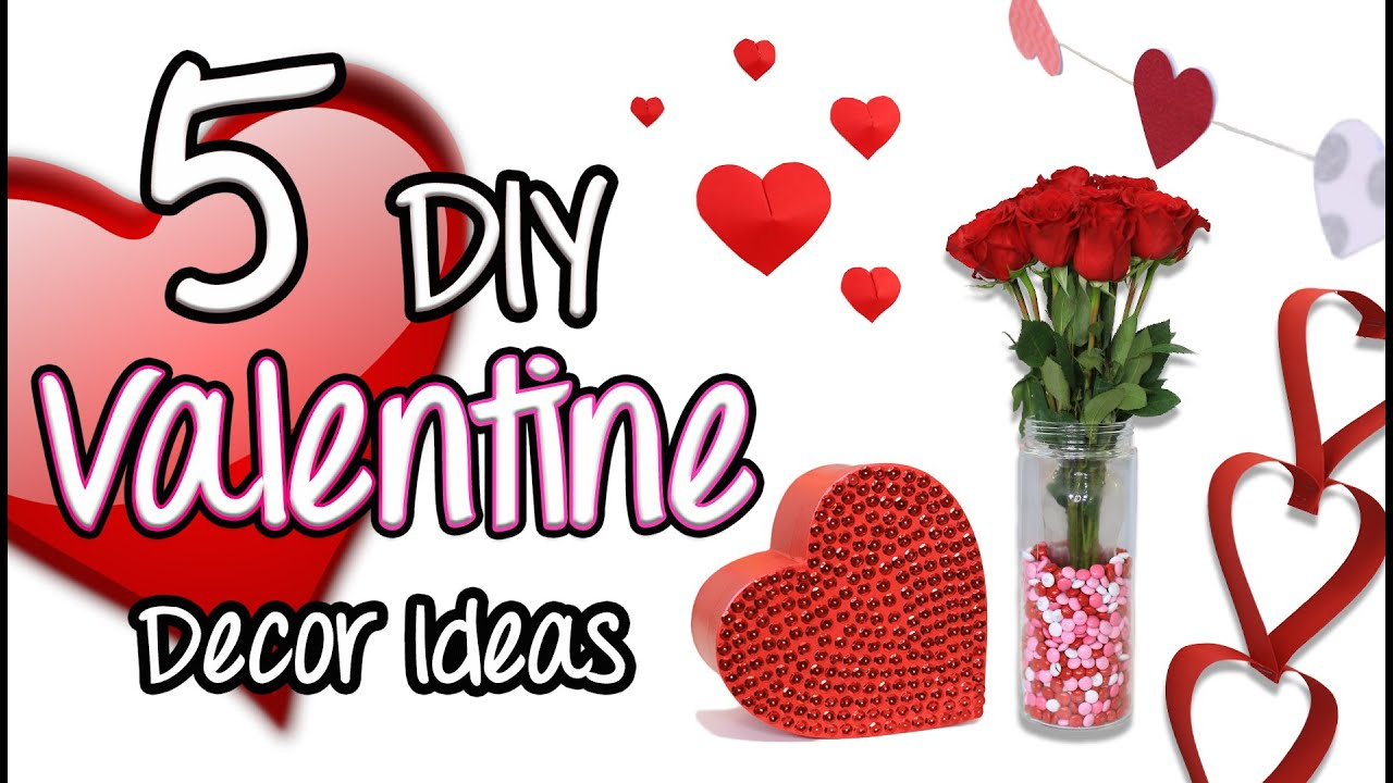5 Diy Valentine Decor Ideas Brooklyn And Bailey Youtube