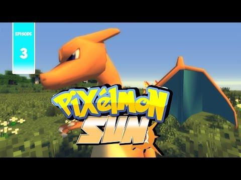 Pixelmon Sun Dracaufeu Ep3 Minecraft Moddé Pokémon