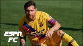 """Why has lionel messi changed his tune after criticizing """"weak"""" barcelona following their 5-0 win over alaves? what will the future hold for quique setien aft..."""