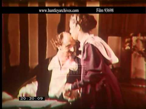 Historical reconstruction of William Shakespeare.  Archive film 93698