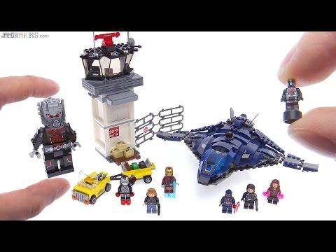 lego super hero airport battle instructions