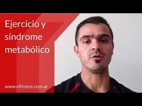 Ejercicio y síndrome metabólico - YouTube
