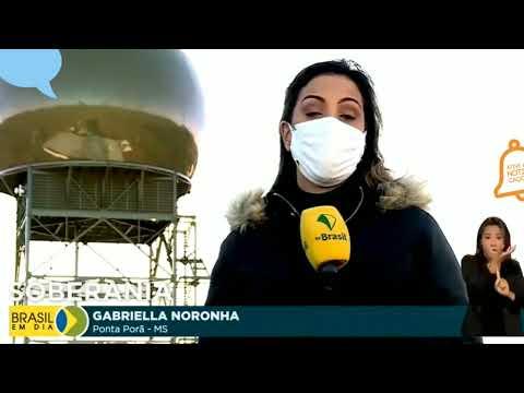 Inaguração Do Radar Que Cobre Fronteira + Recepção Ao Presidente Em Ponta Porã Ms..........olhocerto