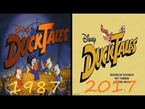 ✧*:.•♡DuckTales 1987/2017 Theme Song Comparison(Separate)♡•.:*✧
