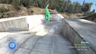 Skate 3 - Ditch Hits Killed It Walkthrough