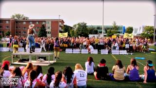 O-Week 2013 | Laurier | Waterloo Campus | Gold Spurs Cheer Off