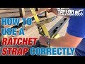 How To Use A Ratchet Strap To Secure A Load On A Trailer mp3