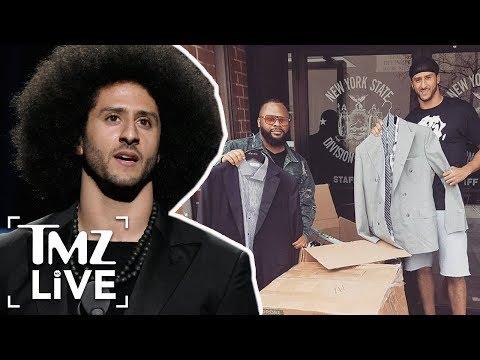 Colin Kaepernick Helps Violent Inmates!   TMZ Live