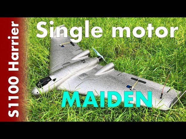 Reptile Harrier S1100 - Single motor maiden #05