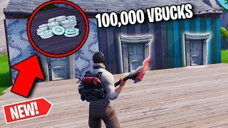 *NEW* Pick the Right Door, Win 100,000 V-BUCKS in Fortnite Season 7... (MrBeast in Fortnite?!)