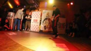 Gieras vs. Mefo - Wielki Finał Cropp Baby-G Dance Battle For Poland 2011