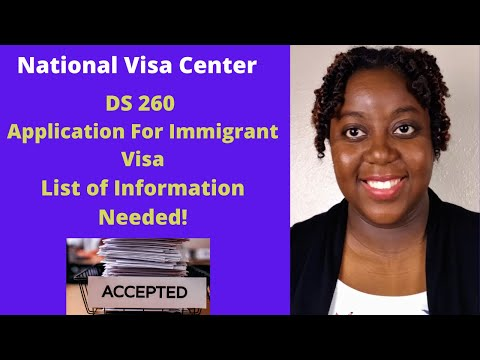 How To Fill Out DS 260 Form Online | List Of Information For DS-260 Visa Application | 2020