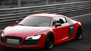Project CARS - GoPro - Racha de Audi R8 V10 Plus - Nurburgring Nordschleife - Volante G27