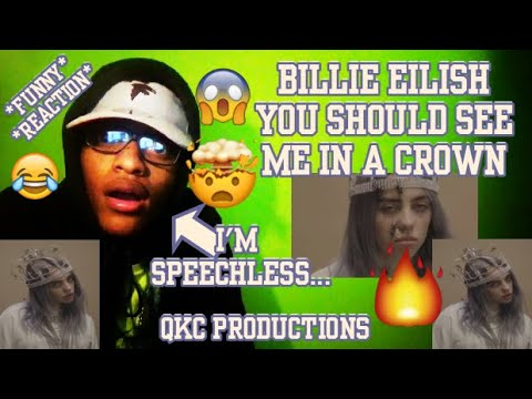 I'M SPEECHLESS... Billie Eilish - You Should See Me In A Crown - Vertical Video - REACTION