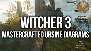 witcher 3 all mastercrafted ursine diagram locations upgrade gear and weapons
