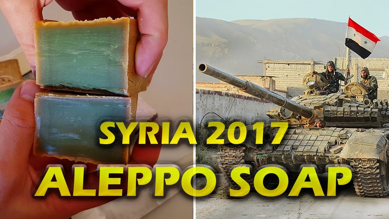 Aleppo Soap Situation In Syria How It Is Made How To Cut It And Characteristics 2017
