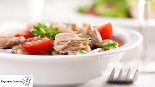 Салат с тунцом и фасолью по‑тоскански