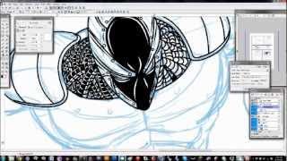 Comic Book Inking in Manga Studio EX4