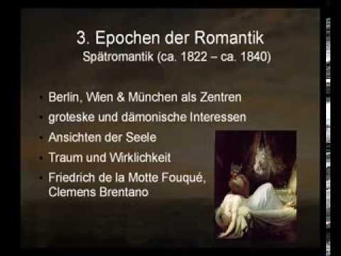 Epoche Romantik Referat Youtube