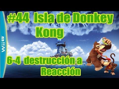 Donkey Kong country Tropical Freeze #44 La Isla de Donkey Kong 6-4 - Let´s play Guía