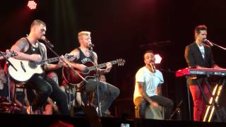 [Backstreet Boys] Drowning and 10.000 Promises - Belo Horizonte 2015