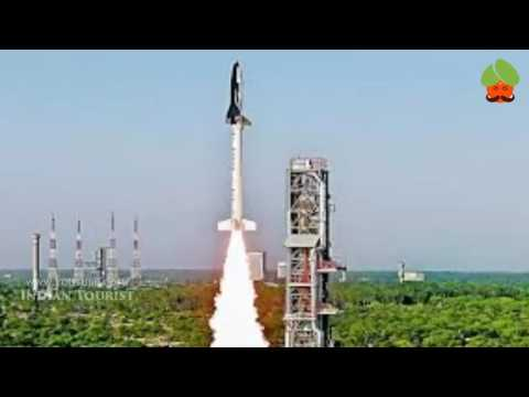 ISRO launches RLV-TD from Sriharikota - India successfully launches reusable launch vehicle RLV-TD