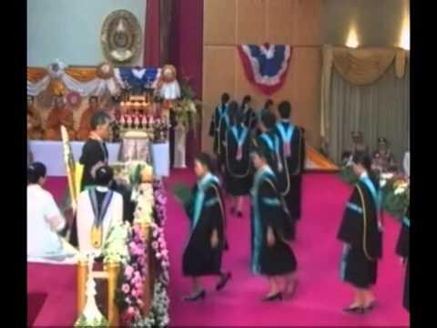 พิธีพระราชทานปริญญาบัตร  มหาวิทยาลัยราชภัฏเชียงราย  ครุศาสตรบัณฑิต  ประจำปีการศึกษา ๒๕๕๔-๒๕๕๕