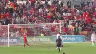 España-Georgia Sub-21 (Almería, 12-11-2015) 3-0 Gol de Iñaki Williams