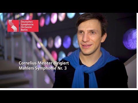 Cornelius Meister dirigiert Mahlers Symphonie Nr. 3