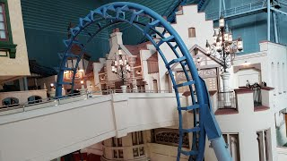 CRAZY RARE Near-Miss Roller Coaster in South Korea?  Meet Lotte World's French Revolution
