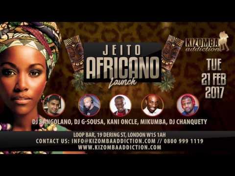Jeito Africano - Kani Oncle & Vaiva - Dancing Semba Show