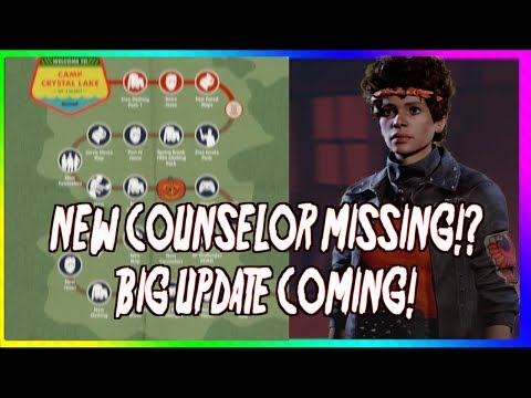 THE MISSING COUNSELOR AND EXPLAINING UPCOMING UPDATE!!!! - Friday The 13th: The Game NEWS!