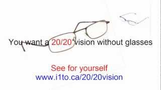 Get a 20-20 vision without glasses