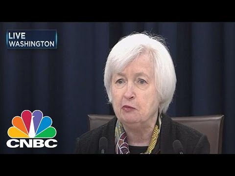 Federal Reserve Chair Yellen's March Statement | CNBC