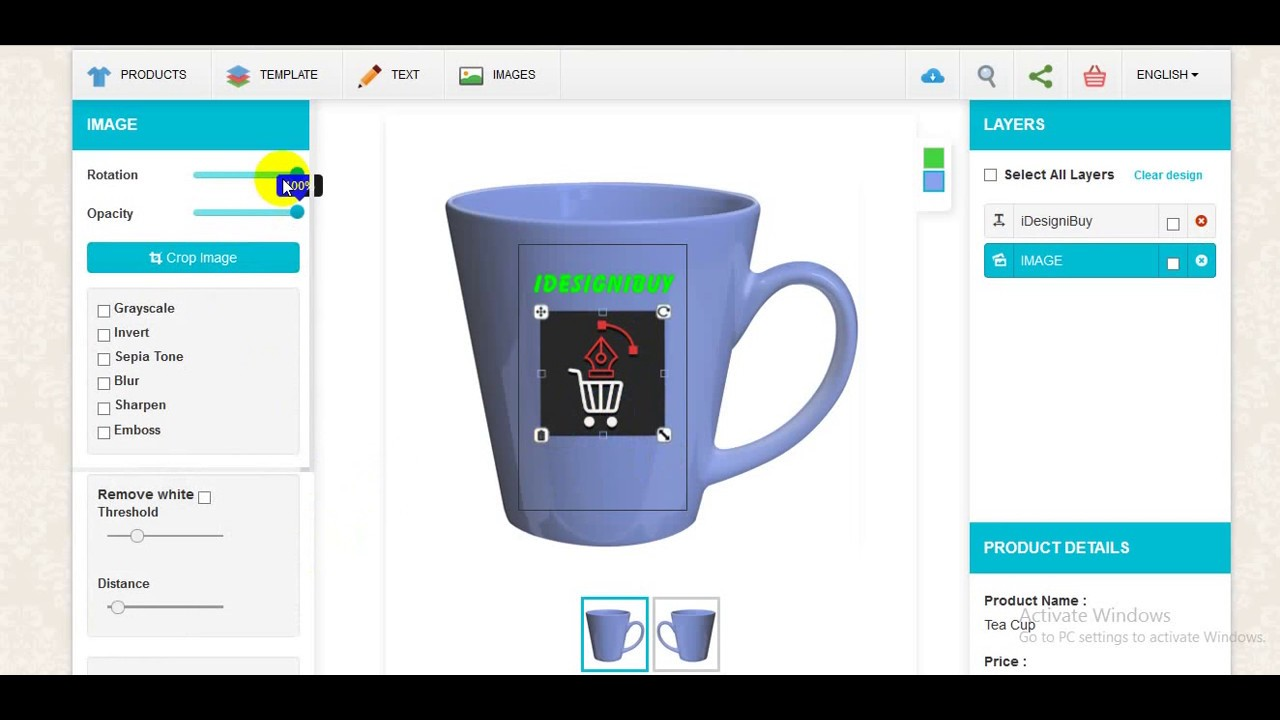 Mug Printing Software Mug Design Software Online Youtube