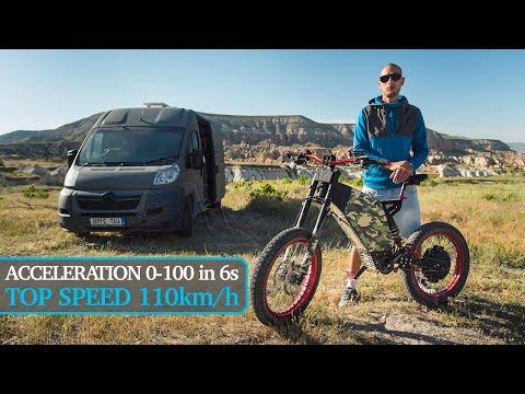Fast & Powerful 17kW DIY EBike Electric Bike Wheelies, Drifting, Acceleration