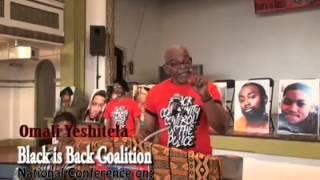 Omali Yeshitela At Black Community Control Of Police Conference