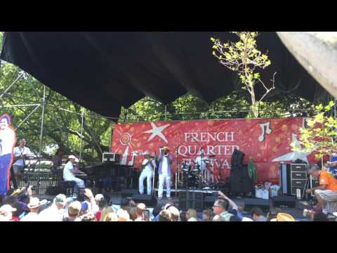 Kermit Ruffins at French Quarter Fest 2017  Skokiaan